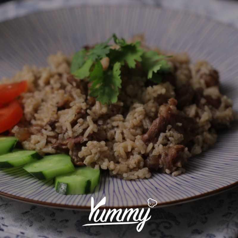 Nasi Kebuli Daging #RiceCooker