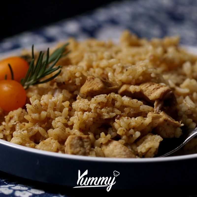 Nasi Ayam Rendang