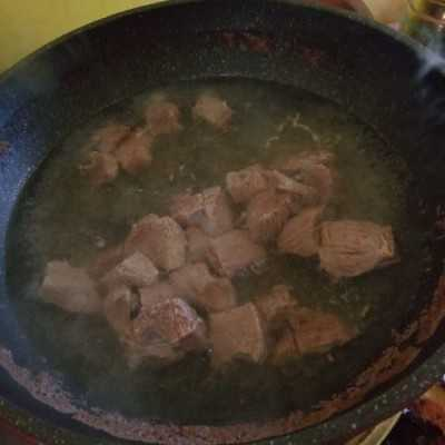 Step 1 Rendang Daging #INDONESIAKAYA