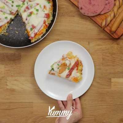 Step 5 Pizza Nasi