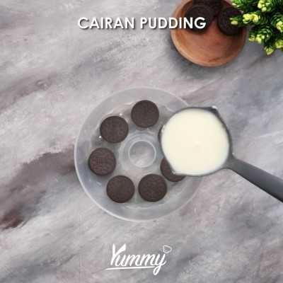 Step 3 Pudding Oreo