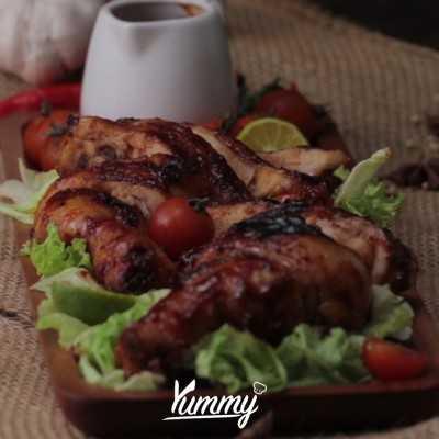 Step 5 Ayam Bakar Madu