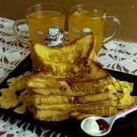 French Toast Sereal Jagung