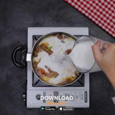 Step 4 Opor Daging Pedas