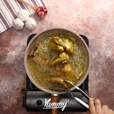 Step 4 Ayam Goreng Basah Khas Sunda