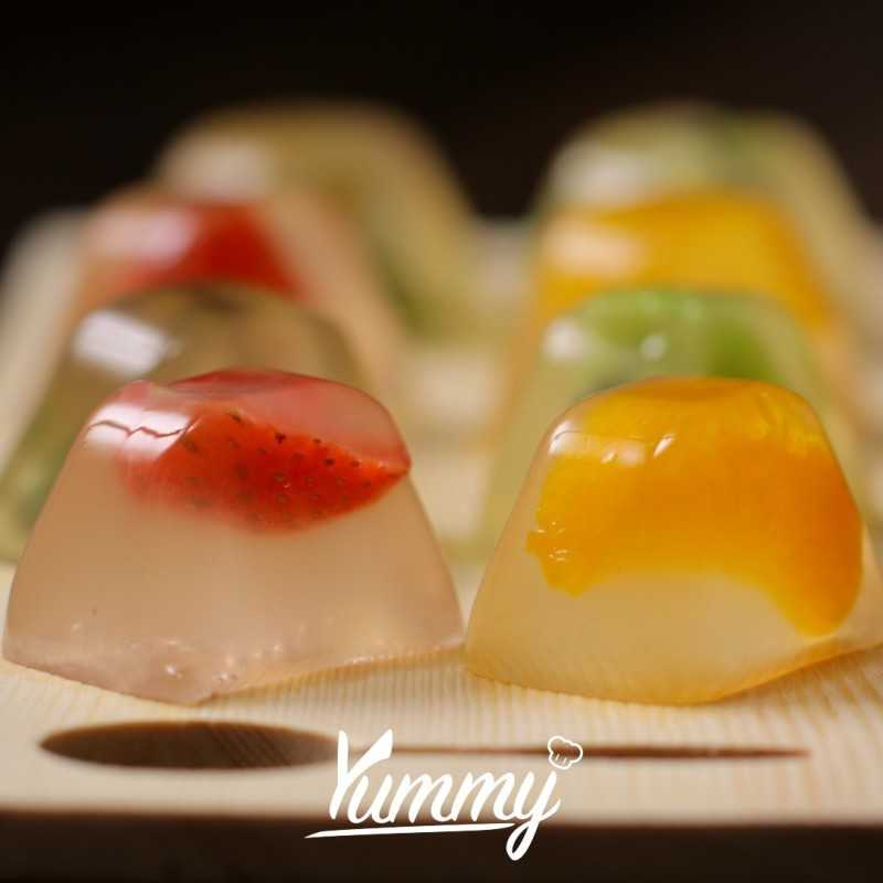 Fruit And Flower Jelly