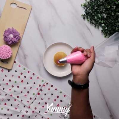 Step 3 Menghias Cupcake Dengan Butter Cream