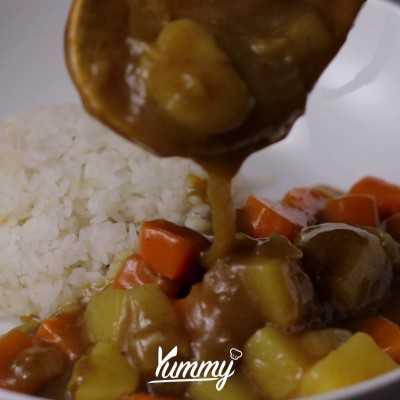 Step 5 Chicken Katsu Curry
