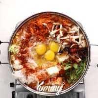 Sup Sayur Korea