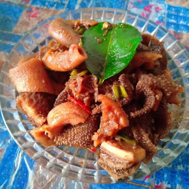 Resep Babat Gongso Pedas Manis Dari Chef Galuh Ayu Yummy App