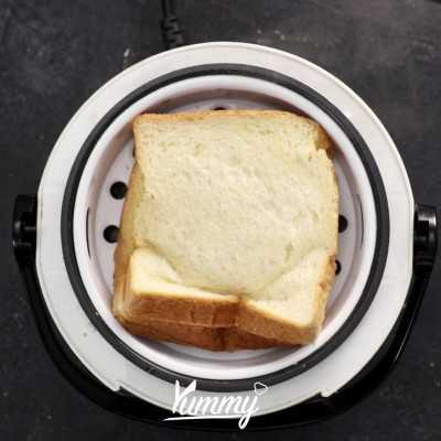 Step 4 Roti Kukus Ala Anak Kost