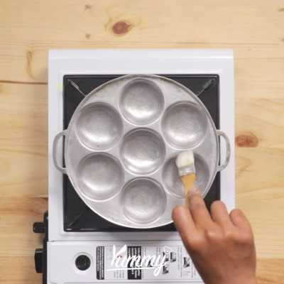 Step 3 Kue Cubit Taro