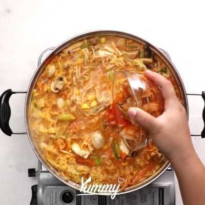 Step 5 Sup Sayur Korea