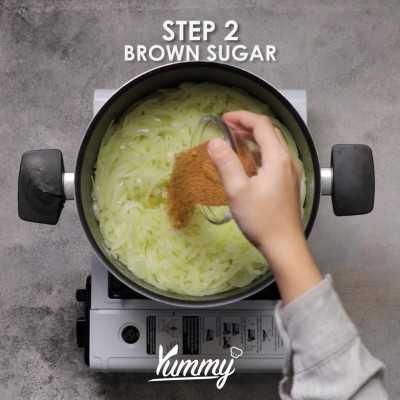 Step 2 Caramelized Onion Tart