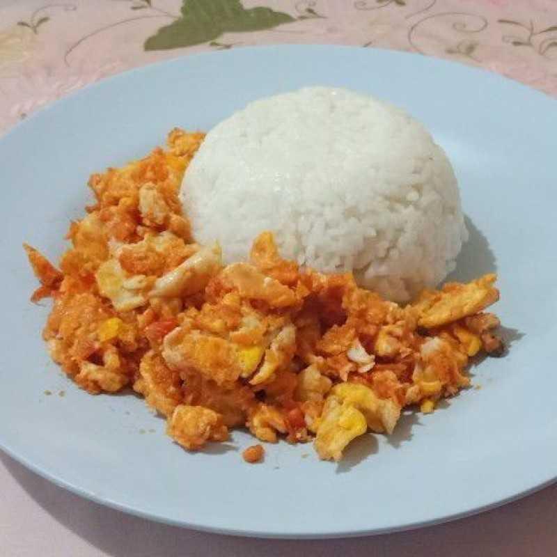 Resep Orak Arik Telur Pedas Alaanakkos Dari Chef Dian Diwiti Yummy App
