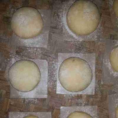 Step 3 Bomboloni isi cream milo