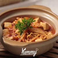 Mie Goreng Kimchi Pedas