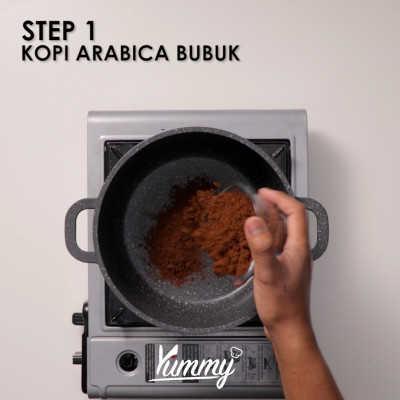 Step 1 Kopi Gahwa Arab