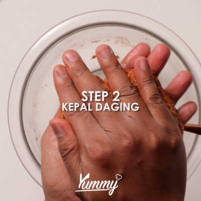 Step 2 Kebab Daging
