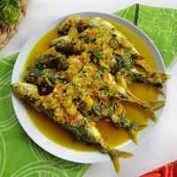 Asam Pedas Ikan Kemangi #JagoMasakMinggu1