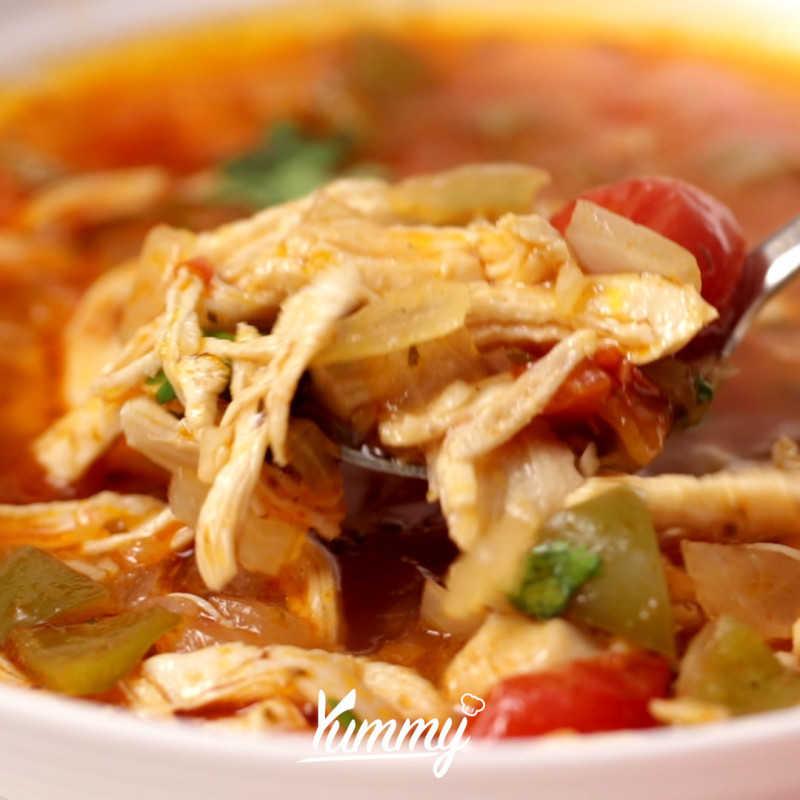 Mixican Chicken Stew