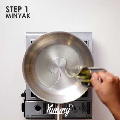 Step 1 Tumis Bihun Bakso Ayam