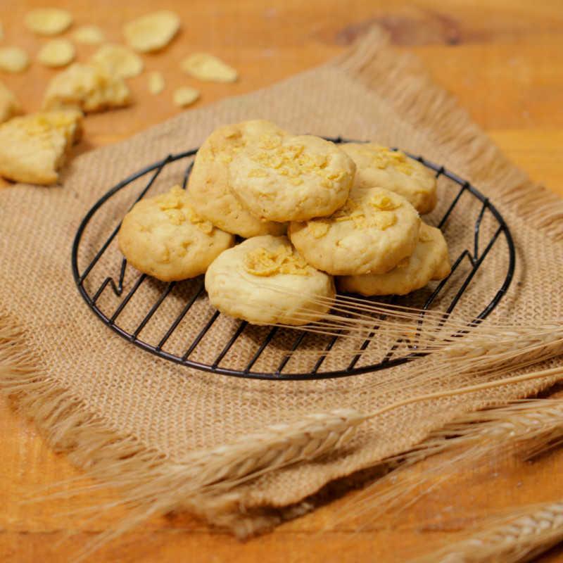 Honey Cornflakes Cookies