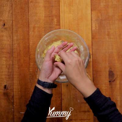 Step 4 Honey Cornflakes Cookies