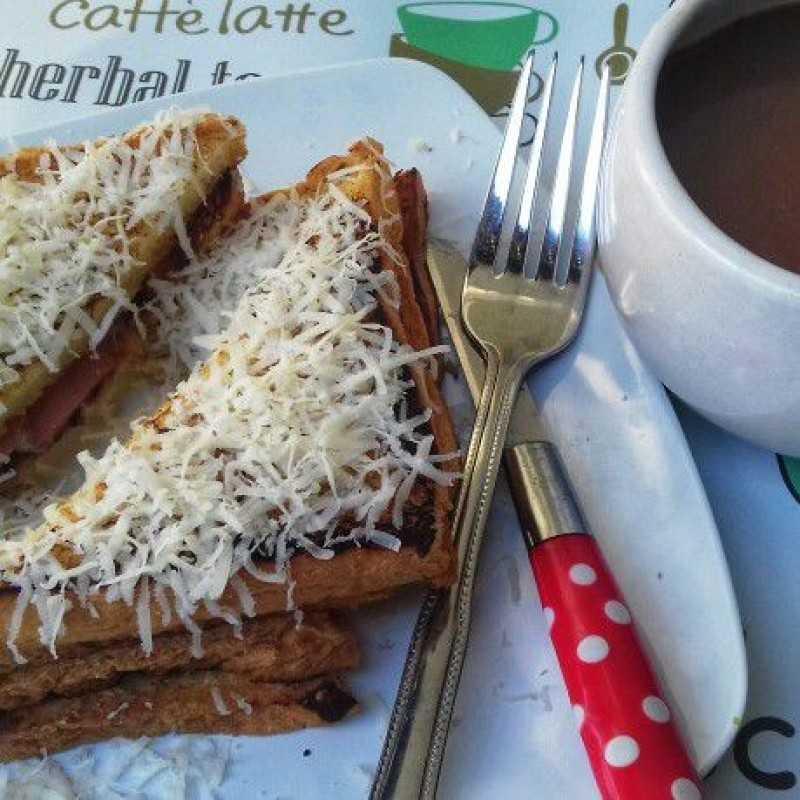 Roti Bakar Teflon #JagoMasakMinggu4