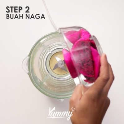 Step 2 Es Alpukat Buah Naga