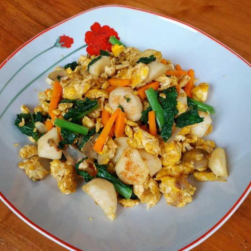 Resep Orak Arik Telur Bakso Sayuran Jagomasakminggu4 Dari Chef Sriwidi Yummy App