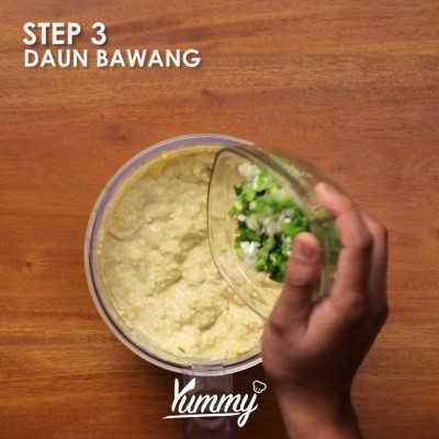 Step 3 Bakwan Jagung Tahu