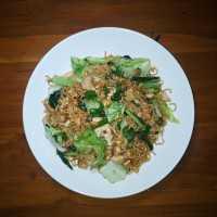Mie Goreng Spesial Ayam Dan Telur #JagoMasakMinggu9