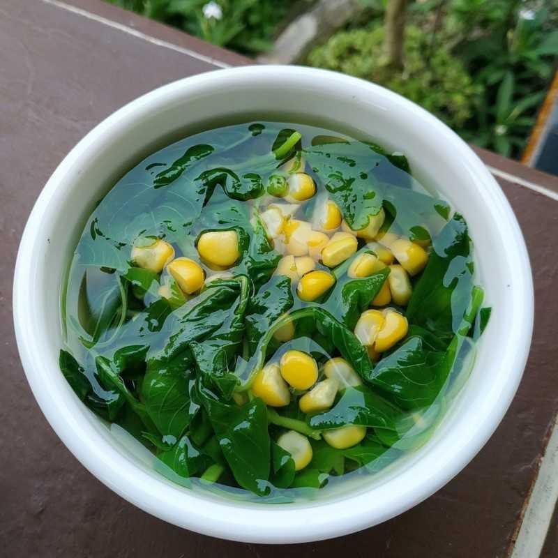 Resep Sayur Bening Bayam Jagomasakminggu9 Dari Chef Astri Anjarwati Yummy App