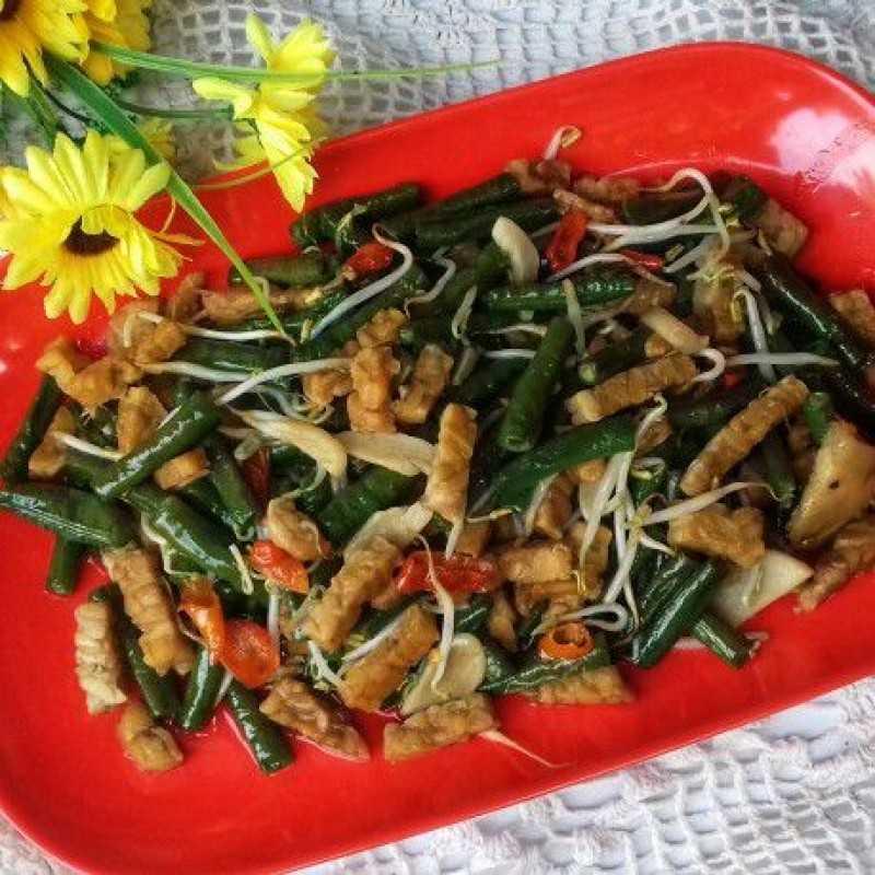 Resep Oseng Kacang Panjang Tauge #JagoMasakMinggu10 dari Chef Cicik Ary   Yummy App