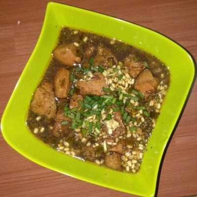 Step 5 Rawon Ayam #JagoMasakMinggu10