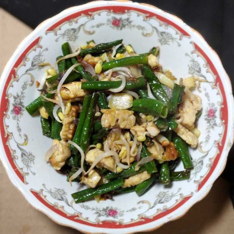Resep Tumis Tempe Tauge Kacang Panjang Dari Chef Ike Ummi Mhf Yummy App