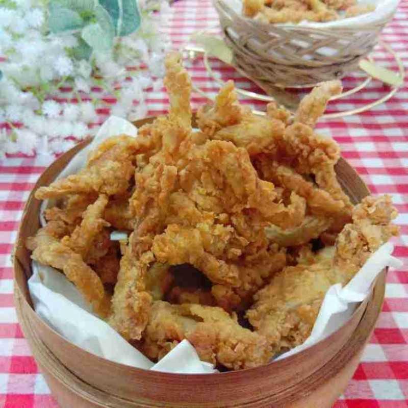 Resep Jamur Crispy Dari Chef Dina Kristiana Yummy App