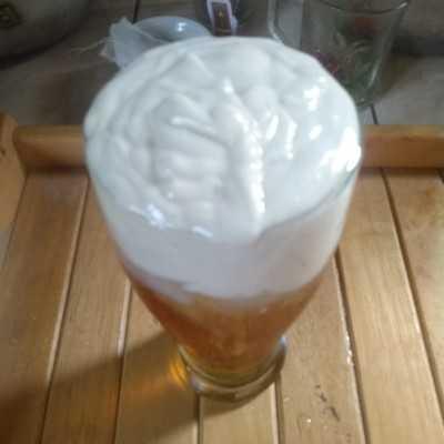 Step 8 Ice Cheese Tea #JagoMasakMinggu1Periode2