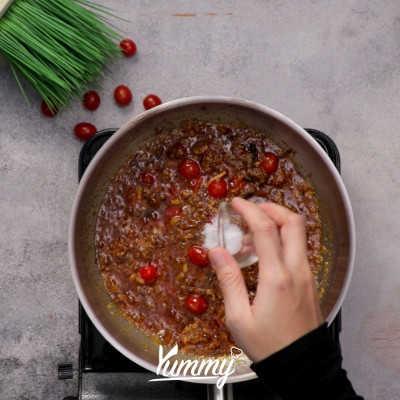 Step 3 Spaghetti Tuna Sambal Terasi