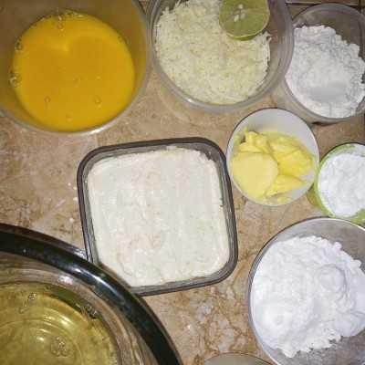 Step 1 Japanese Cheese Cake #JagoMasakMinggu2Periode2