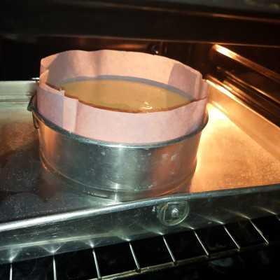 Step 7 Japanese Cheese Cake #JagoMasakMinggu2Periode2
