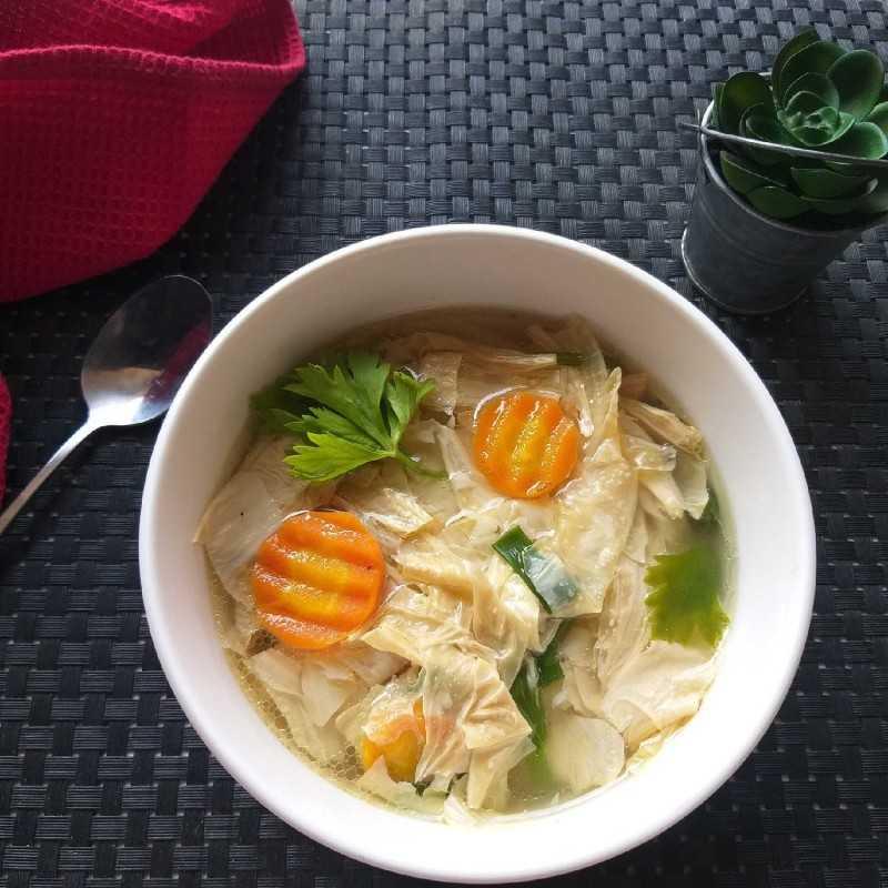 Resep Sup Kembang Tahu #JagoMasakMinggu3Periode2 dari Nur Sabatiana   Yummy.co.id