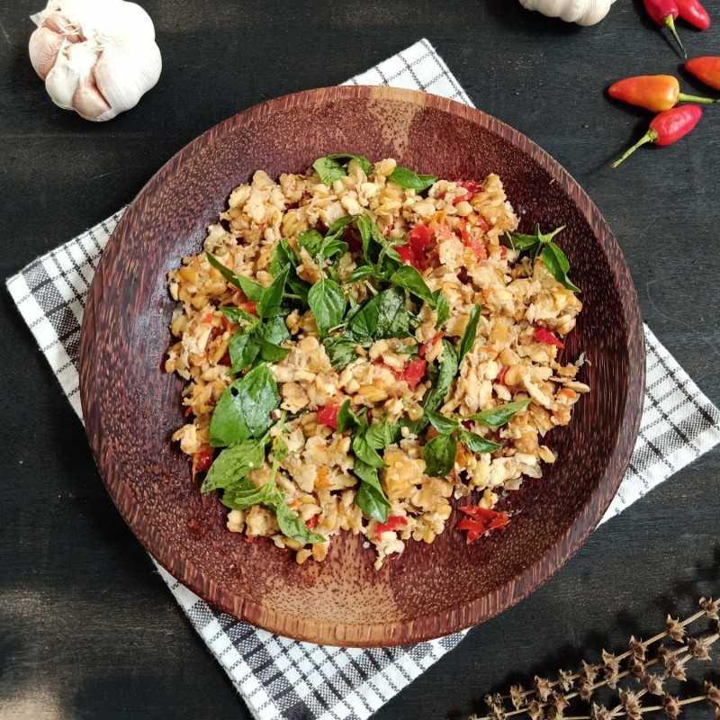Resep Sambal Tempe Kemangi Jagomasakminggu3periode2 Dari Chef Nauzaery Shaquilla Yummy App