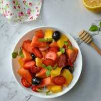 Fruit Salad With Honey & Lemon #JagoMasakMinggu3Periode2