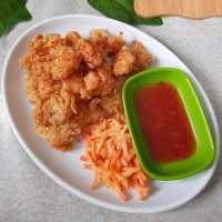 Bites Karage Dengan Salad Wortel #JagoMasakMinggu4Periode2