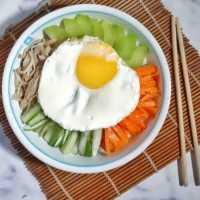 Bibimbab Nasi Campur Korea #JagoMasakMinggu4Periode2