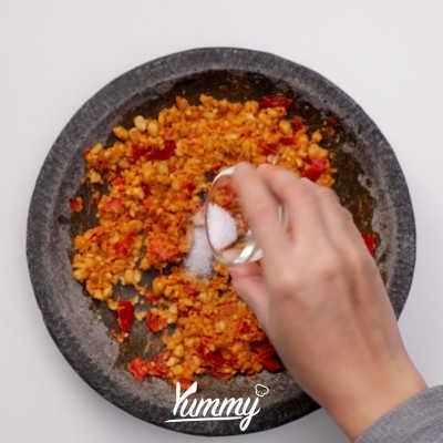 Step 3 Terong Sambal Kacang