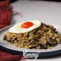 Nasi Goreng Mentega Telur Shiitake