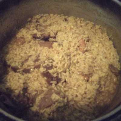 Step 5 Nasi Kebuli Ayam #JagoMasakMinggu10Periode2